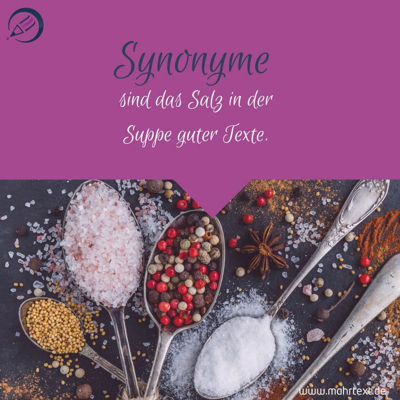 10 Synonym Tipps Für Bessere Texte Sonja Mahr Texterin