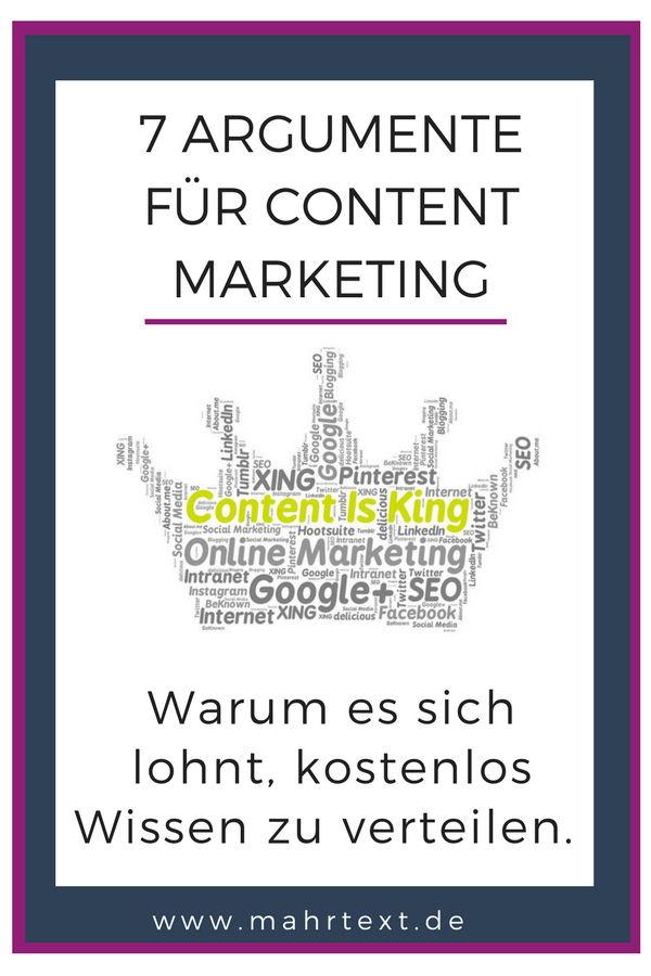 Darum lohnt sich Content Marketing