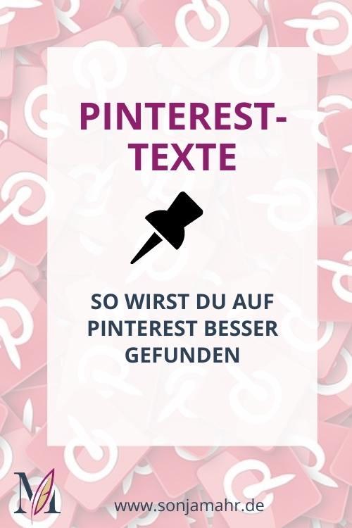 Pinterest SEO für Texte