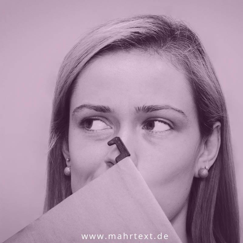 PR für Introvertierte Titelbild mit Frau