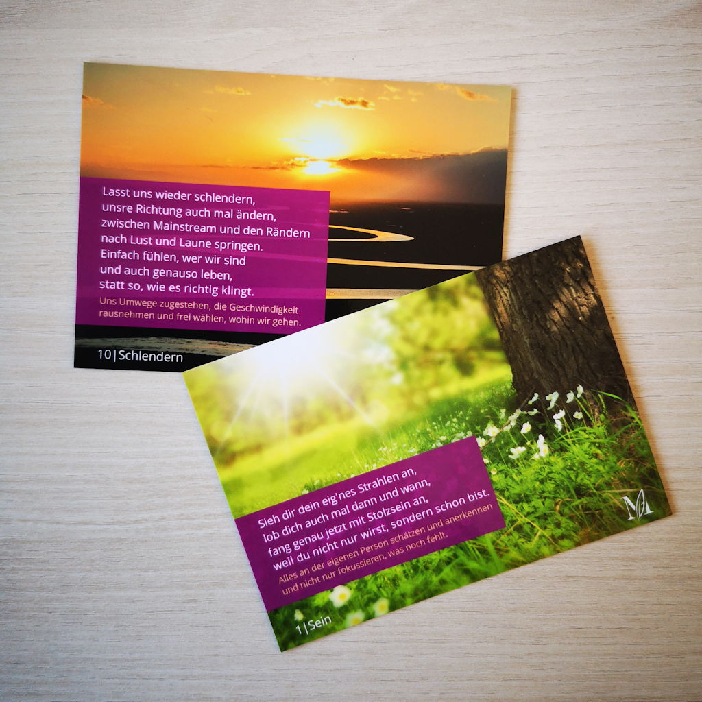 Poesiekarten 1. Serie, Beispiel 2