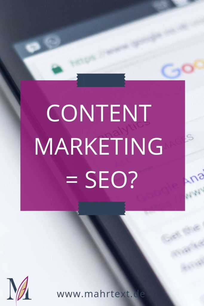 Ist Content Marketing SEO