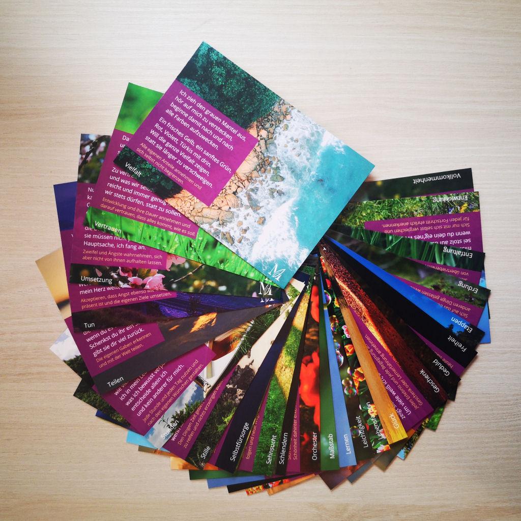 Poesiekarten aktuelle Serie, Übersicht