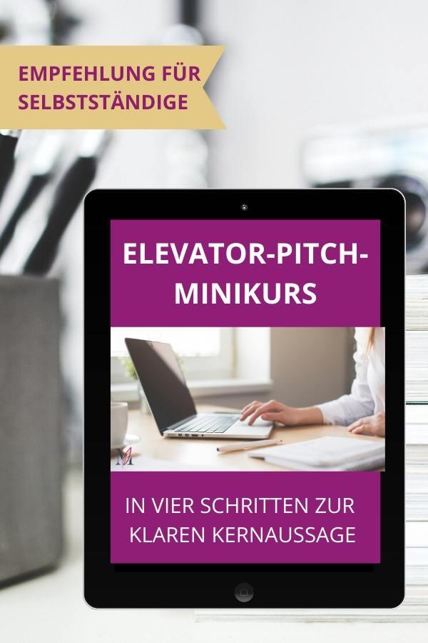 Elevator-Pitch-Minikurs