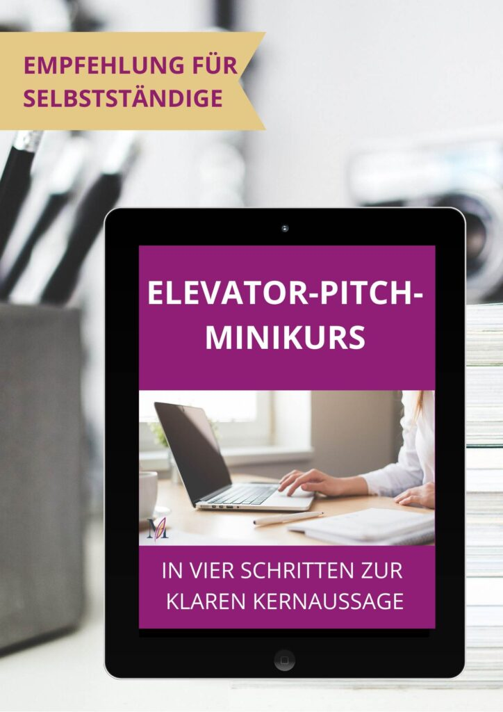 Zum Elevator-Pitch-Minikurs