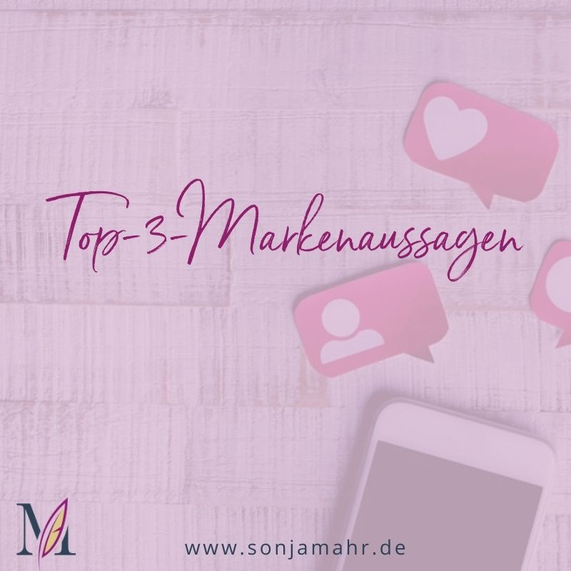 Top-3-Markenaussagen
